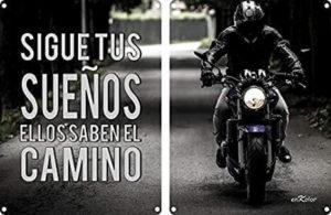 imágenes con fraes para motociclistas