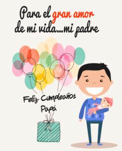 Imágenes de cumpleaños para Papá whatsapp