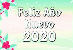 feliz año nuevo del 2020