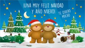 imágenes de feliz navidad con tarjetas