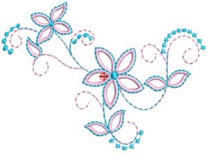bordados de flores para descargar