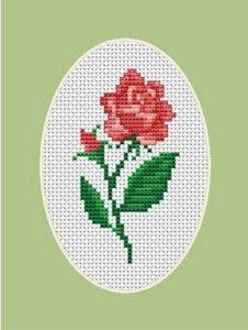 rosas en manualidades