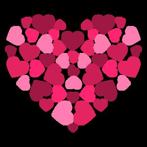 corazones fondos