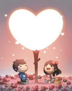 corazones para novios