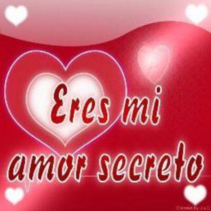 eres mi amor secreto