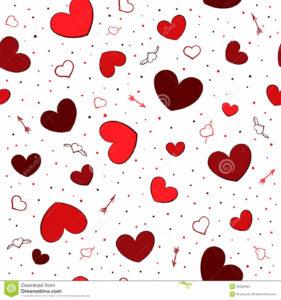 fondos de corazones
