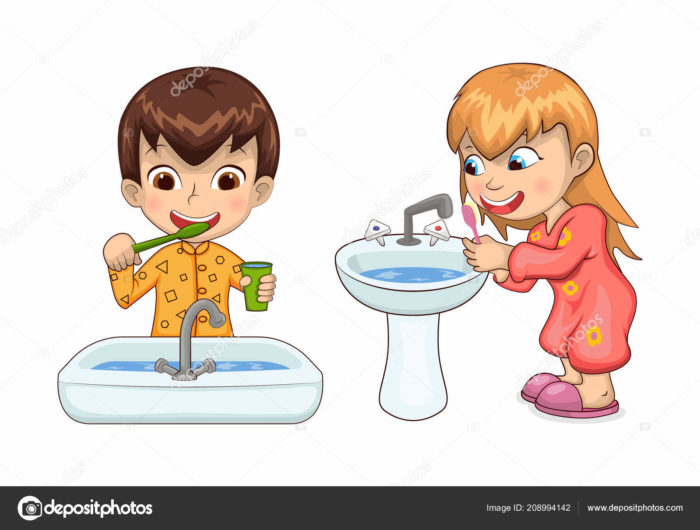 higiene personal para niños