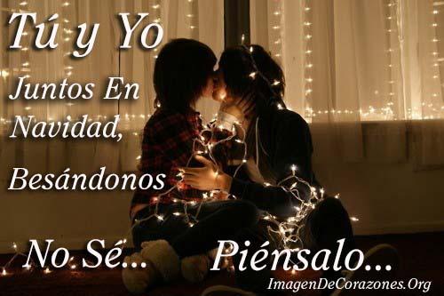 tu y yo en navidad