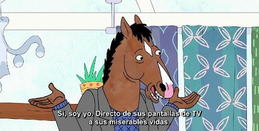 imágenes con frases de Bojack el caballo