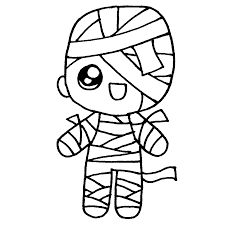 dibujar momias