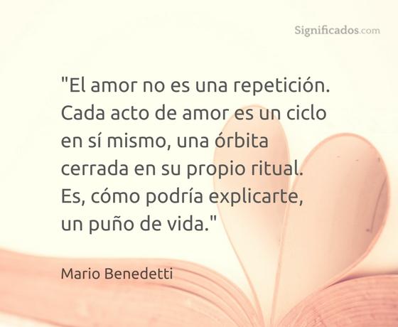 el amor es una repetición