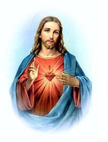 Imágenes del Sagrado corazón de Jesús para fondo
