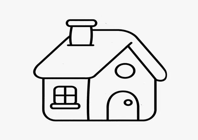 Imágenes de Casas para Dibujar