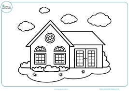 casas para dibujos
