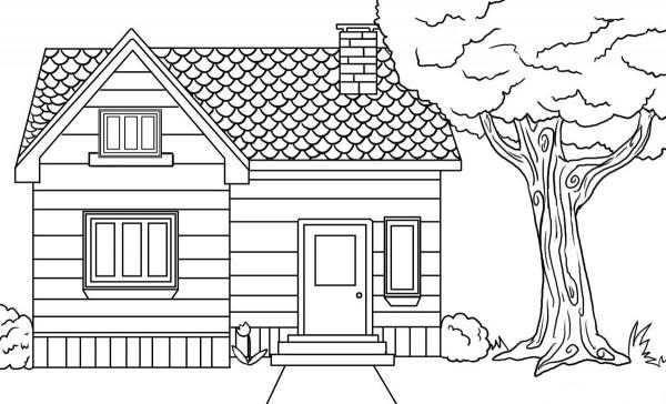 dibujos de casas para dibujar