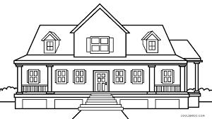 imágenes para dibujar de casas